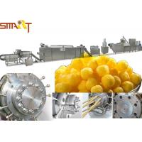 Quality Double Screw Snack Food Extruder Machine Stick Type Puffed Corn Snack Making for sale