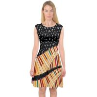 Quality Knit Jersey Fabric Womens Casual Summer Dresses A Line Midi Dress For Holiday for sale