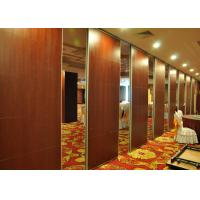 Quality Wooden Office Divider Portable Acoustic Panels Aluminum Frame for sale