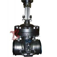 Buy Cast Steel Flex / Solid Wedge Gate Valve With Bypass Valve HF Seal API / DIN Standard at wholesale prices
