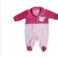 Buy 100% Cotton Custom Red Winter Wear Toddler Romper / Baby Romper Suits in 4 - 24 Month at wholesale prices