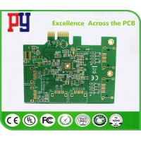 Quality 2-layer immersion gold PCB board  Green Solder Mask Aluminum 1.2mm   ENIG for sale