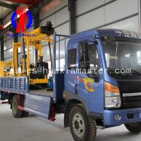 China 600 Meters  Vehicle-mounted Hydraulic Core Drilling Rig Manufacturer For China on sale
