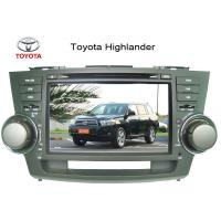 custom 8 inch gps car dvd player with dual zone fm am rds for toyota highlander for sale. Black Bedroom Furniture Sets. Home Design Ideas