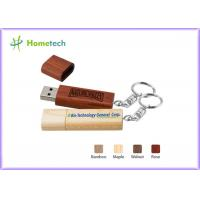 Quality Gift Engraving Bamboo Customised Usb Flash Drives Eco Frinendly for sale