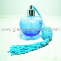 50ml Colored Perfume Glass Bottle With Gas Sprayer