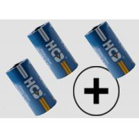 Quality ER18505 Fat A Cylindrical Li-SOCl2 Battery 4000mAh Non Rechargeable 150mA for sale