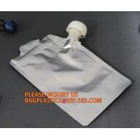 China 1l 2l 3l 4l 5l 10l Bpa Free High Barrier 4l 5l Emergency Pouch With Big Cap Handle Spout Plastic Drinking Water Bag on sale