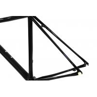 Buy Durable Lightweight Road Bike Frame Forks C59 Bicycle Frameset Glossy / Matt at wholesale prices