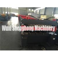 Quality H Type Steel Body Frame Glazed Tile Roll Forming Machine For Making Re-Cycle for sale