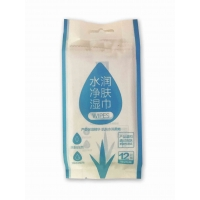 Quality Skin Friendly biodegradable Adult Wet Wipes No Pigment No Fluorescent for sale
