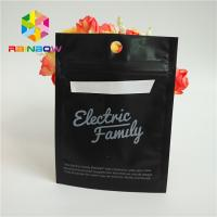 Quality Cell Phone Case Heat Seal Packaging Bags , Stand Up Zipper Pouch Bags SGS Approval for sale