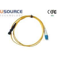 Quality MTRJ to LC Singlemode Duplex Fiber Optical Patchcord in Telecommunication Equipment for sale