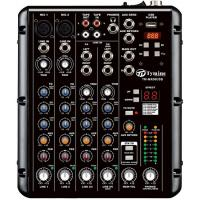 China 4 channel mixer with USB audio player & DSP effects on sale