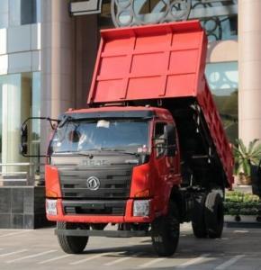 Buy Light Duty 10 Wheels Coal Dump Truck / 4x4 Mini Dump Truck 140 Horsepower at wholesale prices