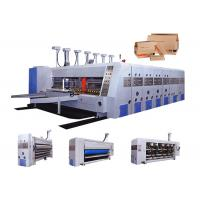 Quality Automatic Corrugated Carton Box Making Machine / Flexo Printing Machine for sale