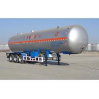 Quality 59.4CBM 3 Axle Semi Trailer / LNG Transport Trailers For Transport LPG for sale