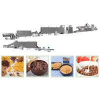 Quality Extrusion Press Corn Flakes Production Line / Cornflakes Making Machine for sale