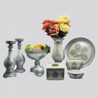 Buy Home Decoration Crafts, Made of Polyresin, Comes in Silver, Suitable for Gifts, Friends at wholesale prices