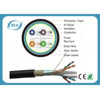 Quality Dual Layer Jacket Cat6 LAN Cable Outdoor FTP Al Foil Shielded PVC PE Material for sale