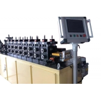 Quality Omega Segment Cr12Mov 25KW Cold Roll Forming Machine for sale
