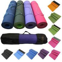 China Acupuncture Cushioned PVC Yoga Mat Non Slip , Personalized Healthy Yoga Mats on sale