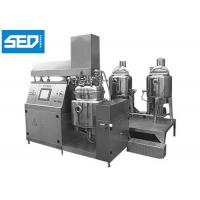 Quality Cosmetic Ointment Manufacturing Machine For Cream & Shampoo Production for sale