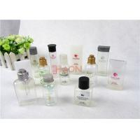 China Various Type Bathroom Hotel Shampoo Bottle With Snap Or Screw Cap on sale