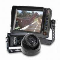 China CCTV Camera Monitor System with 5-inch Digital Screen Color Rearview Monitor and Outdoor CCTV Camera on sale