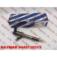 BOSCH Common rail injector 0445110313, 0445110445, 0445110446 for FOTON 4JB1