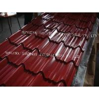 Quality Tile Effect Roofing Sheet for sale