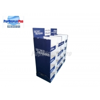 """Quality Promotional Temporary Cardboard Paper Half Size Pallet Display 48"""" Wide For Ladies' Panties for sale"""