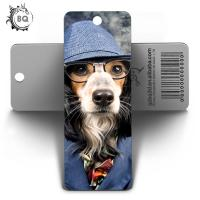 Quality PET Customized Dog 3D Lenticular Bookmark For Art And Collectible for sale