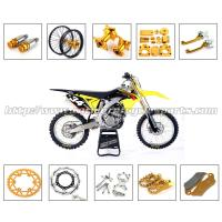 Quality Gold Silver Dirt Bike Parts CNC Milling Accessories With Stainless Steel Or Plastic Material for sale