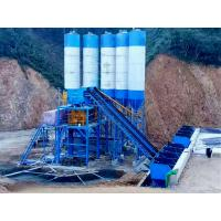 Quality 145 KW Twin Concrete Mixing Station High Stability For Construction Low Noise for sale