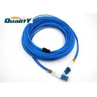 China 2 Cores 7.0mm G657A2 / LC LC Fiber Patch Cord / LC To LC Multimode Duplex Fiber Optic Patch Cable on sale