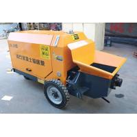 Quality Remote Operation Ready Mix Concrete Pump , Stepless Hydraulic Concrete Pump for sale