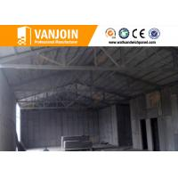 Quality High rise concrete / steel structure insulated building panels Heat Resistance for sale