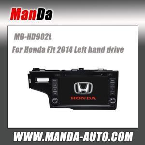 Quality 2 din car sat nav for Honda Fit 2014 Car dvd player gps navigation multimedia system touch sreen dvd players car hifi for sale