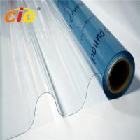 Quality Transparent PVC Film Roll Waterproof 0.06mm-0.5mm Thickness For Packing Bag for sale