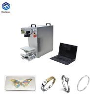 China New Condition 220v Fiber Optic Laser Engraving Machine on sale
