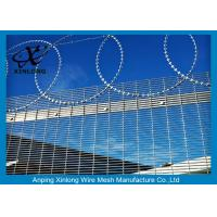 Quality Anti - Climbing High Security Fence Panels With 4.0mm Wire Diameter for sale