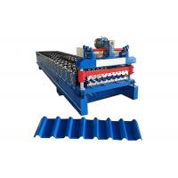 Quality Metal Roof Roll Forming Machine , Roof Panel Roll Forming Machine for sale
