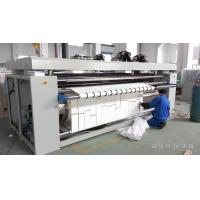 China Natural Gas Heated Roller Press Iron Machine , Europe Standard Industrial Ironing Equipment on sale