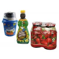 Buy cheap Plastic OPS Glass Bottle Sleeves Heat Shrink Sleeve Labels 60 Micron from Wholesalers