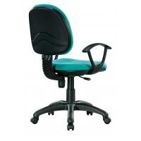 Quality Turquoise Green Fabric Office Chairs For Tall People High Durability for sale