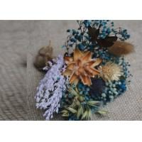 Quality Beautiful Mini Size Dried Flower Arrangements For Cafe Table Flower Display for sale