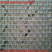 Quality 65Mn heavy industrial screens vibrating screen wire mesh/crimped black iron woven cloth wire mesh from factory for sale