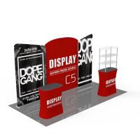 Buy Light Weight Trade Show Poster Display Popular 10ft*10ft Convenient Operation at wholesale prices