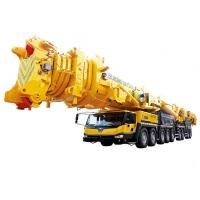 Quality 8 Segment Single Cylinder hydraulic mobile crane , QAY1200 All Terrian articulating crane for sale